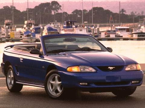 1996 Ford Mustang GT Convertible 2D Pictures and Videos ...