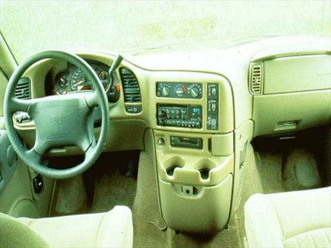 1996 gmc safari passenger Interior