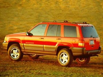 1996 Jeep Grand Cherokee Exterior