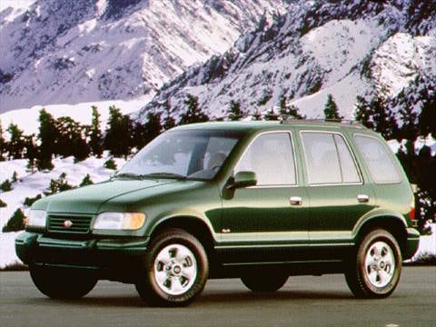 1996 Kia Sportage Sport Utility 4D  photo