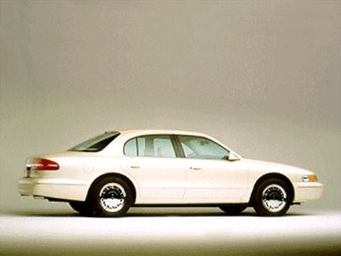 1996 lincoln continental Exterior