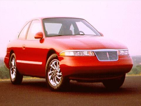 1996 lincoln mark viii Exterior