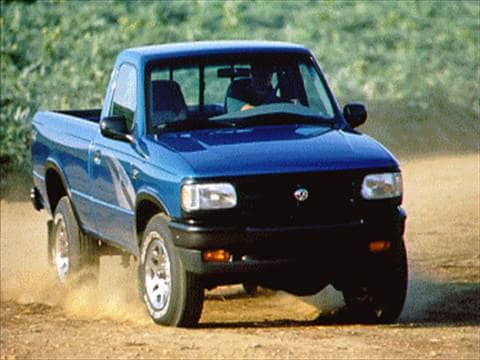 1996 mazda b series regular cab Exterior