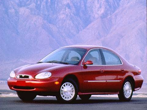 1996 mercury sable Exterior
