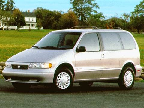 1996 Nissan Quest XE Minivan  photo