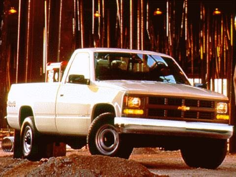 1997 chevrolet 1500 regular cab Exterior