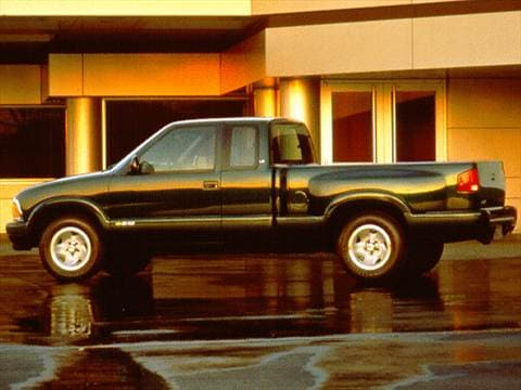 1997 chevrolet s10 extended cab Exterior
