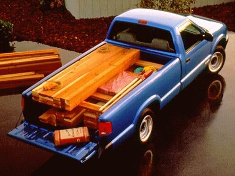 1997 chevrolet s10 regular cab Exterior