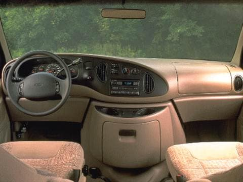 1997 ford club wagon Interior