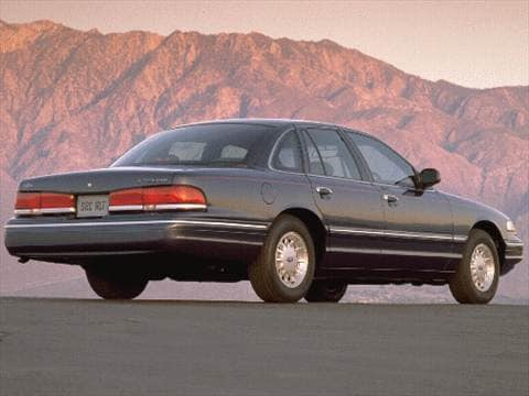 1997 ford crown victoria Exterior
