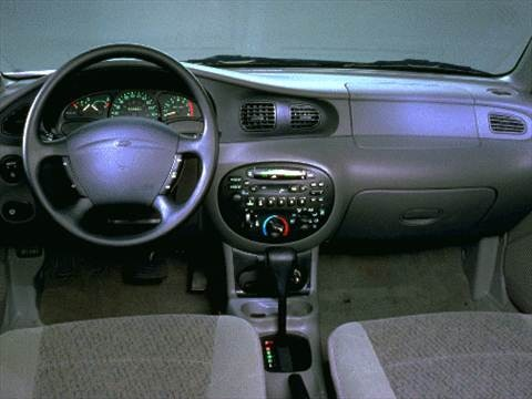 1997 ford escort Interior