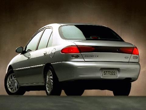 Think, 2001 ford escort bluebook value already