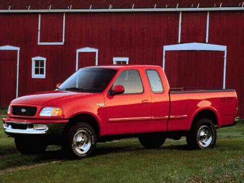 1997 ford f350 super cab Exterior