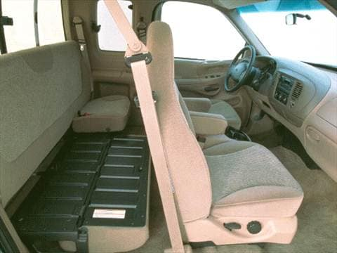 1997 ford f350 super cab Interior
