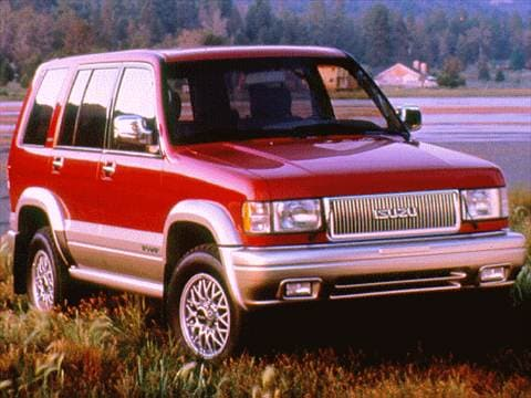 1997 isuzu trooper Exterior