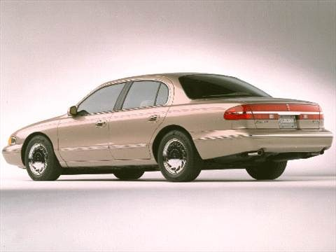 1997 lincoln continental Exterior