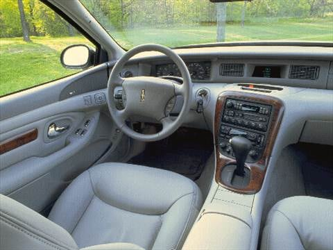 1997 lincoln mark viii Interior
