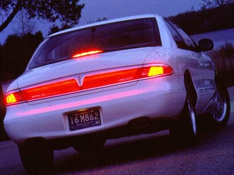 1997 lincoln mark viii Exterior