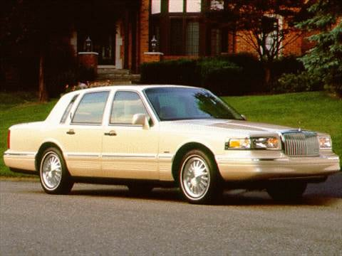 1997 lincoln town car pricing ratings reviews. Black Bedroom Furniture Sets. Home Design Ideas