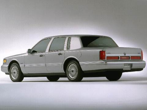 1997 Lincoln Town Car Pricing Ratings Reviews Kelley Blue Book
