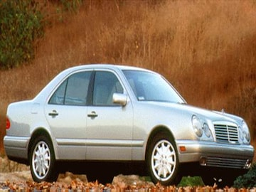 1997 mercedes benz e class pricing ratings reviews for Mercedes benz blue book