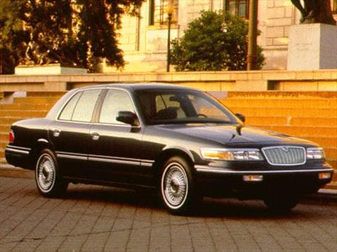 1997 mercury grand marquis gs sedan 4d pictures and videos kelley blue book. Black Bedroom Furniture Sets. Home Design Ideas