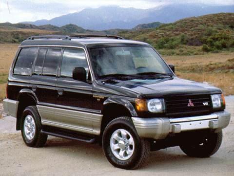 1997 Mitsubishi Montero Pricing Ratings Reviews Kelley Blue Book