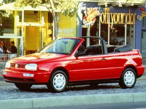 1997 Volkswagen Cabrio 22 Mpg Combined