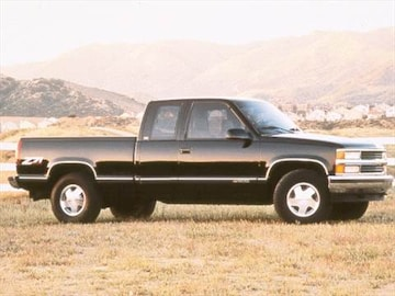 1998 chevrolet 1500 extended cab pricing ratings. Black Bedroom Furniture Sets. Home Design Ideas