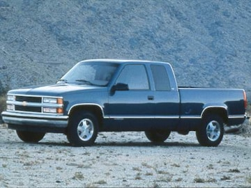 Chevrolet Extended Cab Frontside Ct E