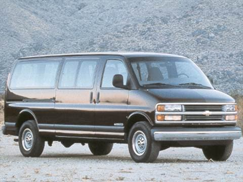 1998 Chevrolet Express 3500 Passenger Van  photo