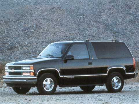 1998 Chevrolet Tahoe Sport Utility 2D  photo