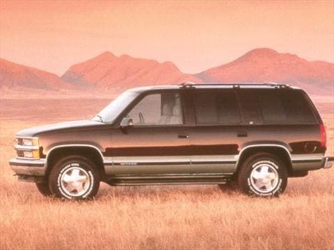 1998 Chevrolet Tahoe Pricing Ratings Reviews Kelley Blue Book