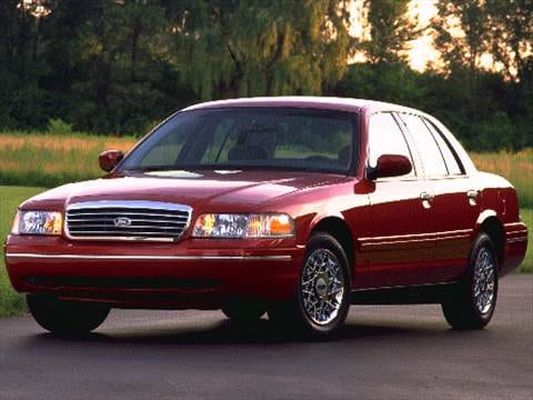 1998 ford crown victoria Exterior