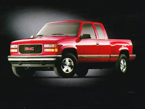 1998 gmc 2500 hd club coupe Exterior