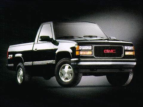 1998 gmc 2500 regular cab Exterior
