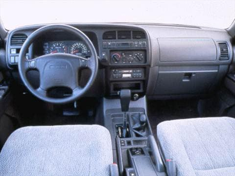 1998 isuzu trooper Interior