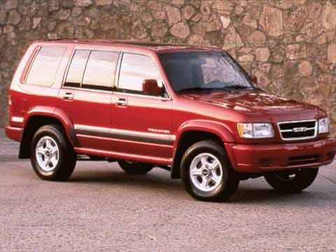 1998 isuzu trooper Exterior