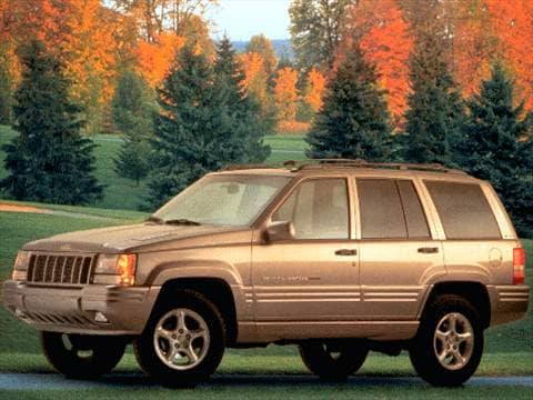 1998 jeep grand cherokee 5 9 limited sport utility 4d pictures and videos kelley blue book. Black Bedroom Furniture Sets. Home Design Ideas
