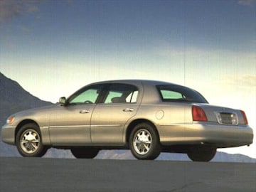 1998 Lincoln Town Car Exterior Interior