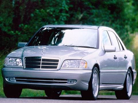 1998 mercedes benz c class pricing ratings reviews for Mercedes benz blue book