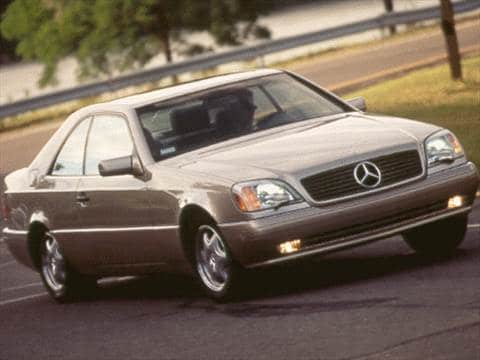 1998 Mercedes-Benz CL-Class CL500 Coupe 2D  photo