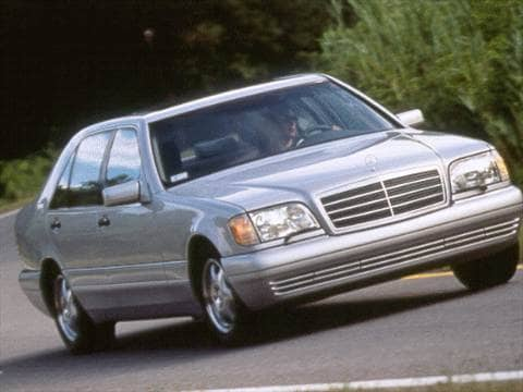 1998 mercedes benz s class pricing ratings reviews for Mercedes benz blue book
