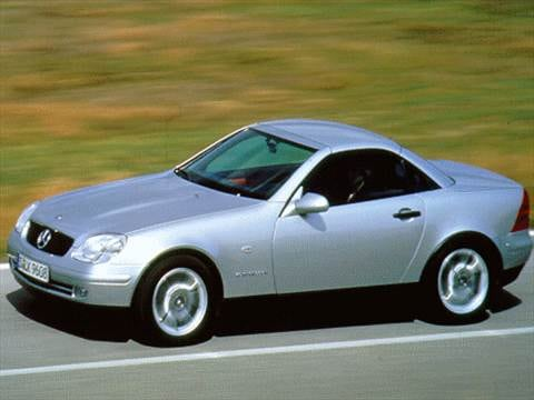 1998 Mercedes Benz Slk Class Pricing Ratings Amp Reviews Kelley Blue Book