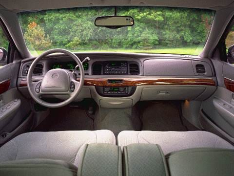 1998 mercury grand marquis Interior
