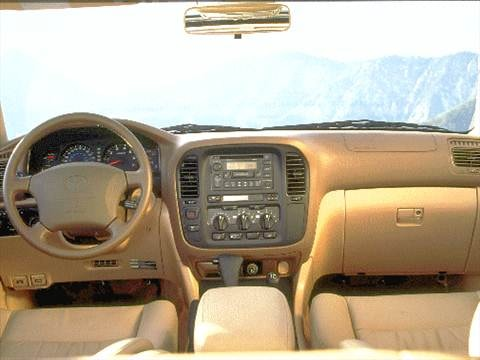 1998 toyota land cruiser Interior