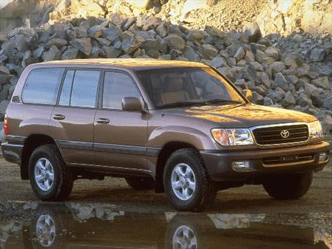 1998 Toyota Land Cruiser Sport Utility 4D  photo