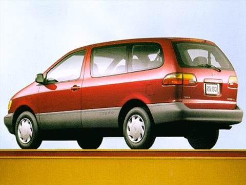 1998 Toyota Sienna CE Minivan  photo