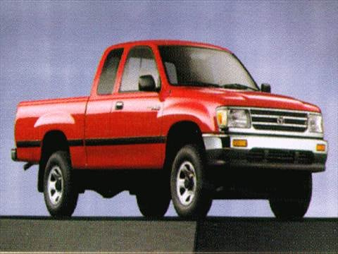 1998 toyota t100 xtracab dx pickup pictures and videos. Black Bedroom Furniture Sets. Home Design Ideas