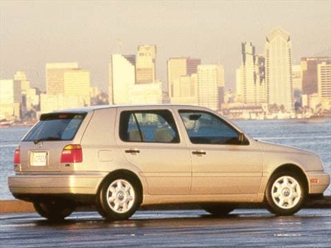 1998 Volkswagen Golf GL Hatchback 4D  photo